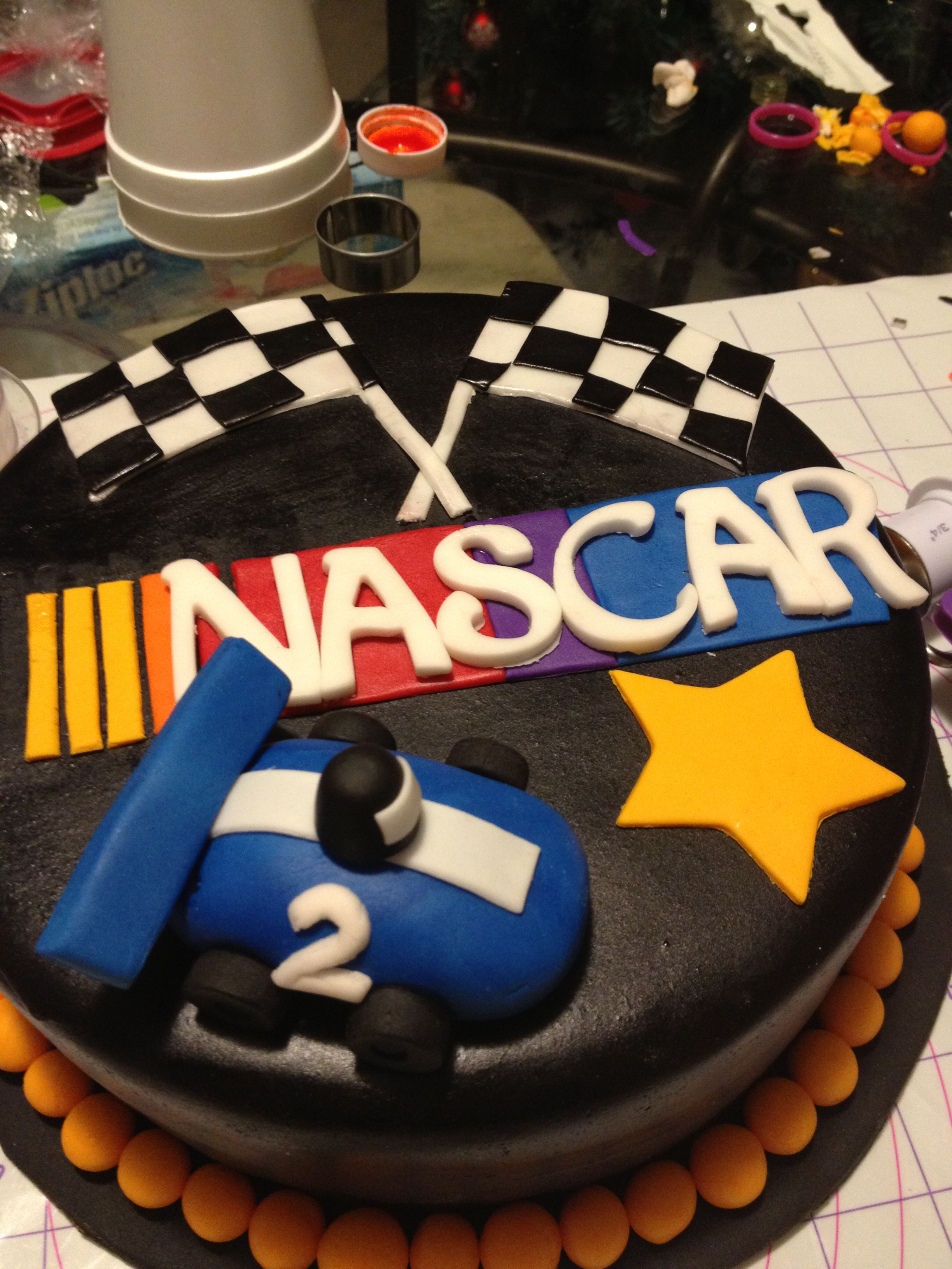 NASCAR Cake  The Jill of all Trades