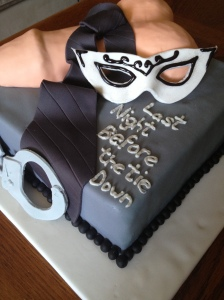 Bachelorette Cake Fifty Shades Of Grey The Jill Of All
