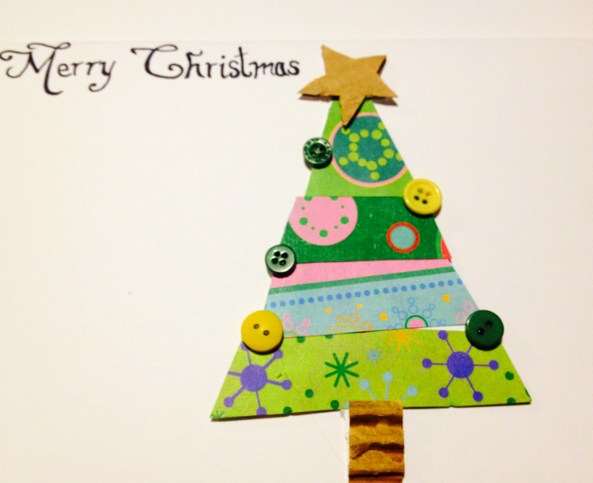 A diy christmas homemade greeting cards part i the jill of all photo 3 solutioingenieria Image collections